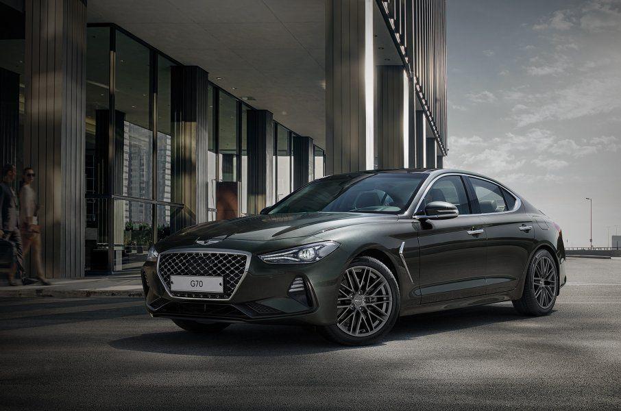 Hyundai представил третью модель премиального бренда Genesis