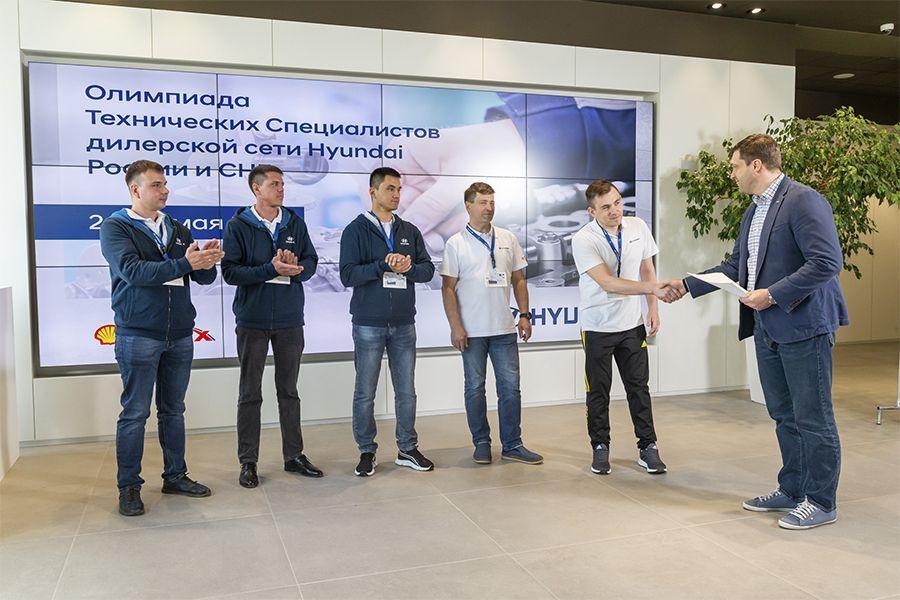 Слесарь-электрик Сергей Серяков стал победителем международной олимпиады технических специалистов Hyundai.