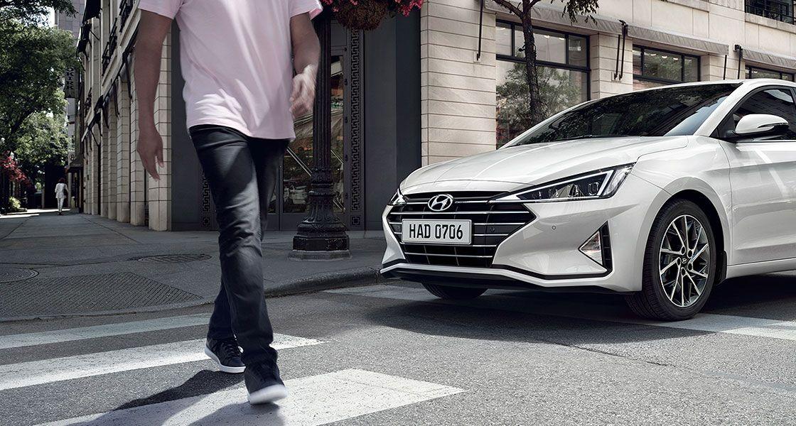 Ваша безопасность с новой Hyundai Elantra
