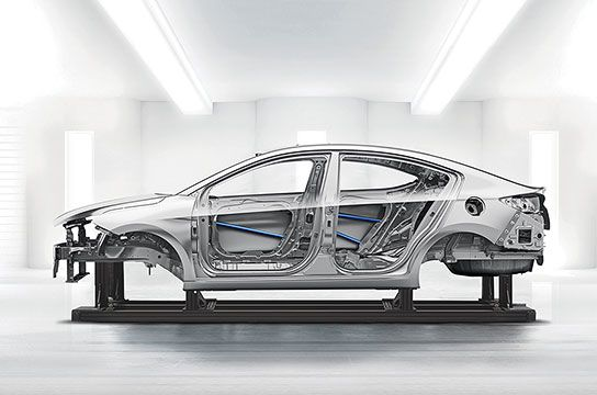 Усовершенствованная высокопрочная сталь (AHSS)