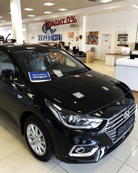 1000-й  покупатель Hyundai в 2019 году