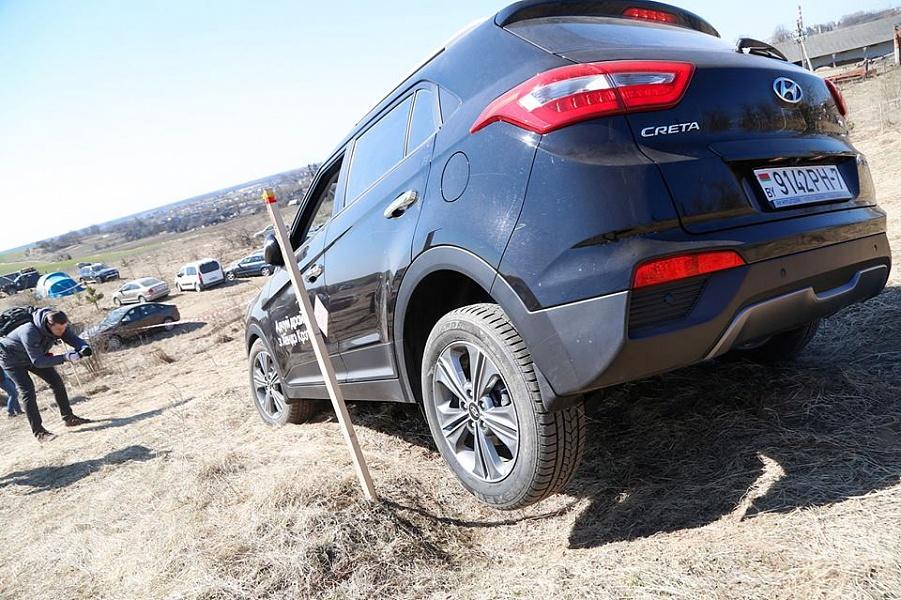 Hyundai CRETA принял участие в джип-триале